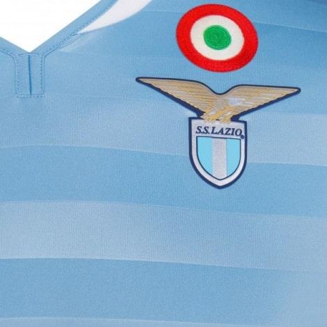 Домашняя игровая футболка Лацио 2019-2020 герб клуба