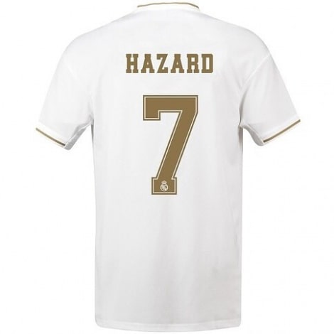 Домашняя футболка Реал Мадрид 2019-2020 Эден Азар
