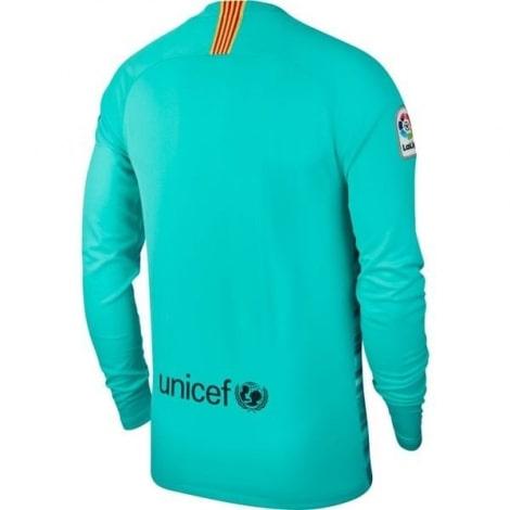 Вратарская домашняя футболка Барселоны 2019-2020 сзади