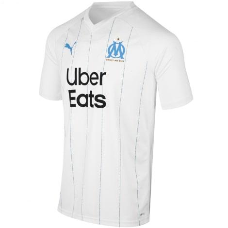 Комплект взрослой домашней формы Марселя 2019-2020 футболка