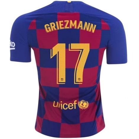 Детская домашняя футбольная форма Гризманн 2019-2020 футолка сзади