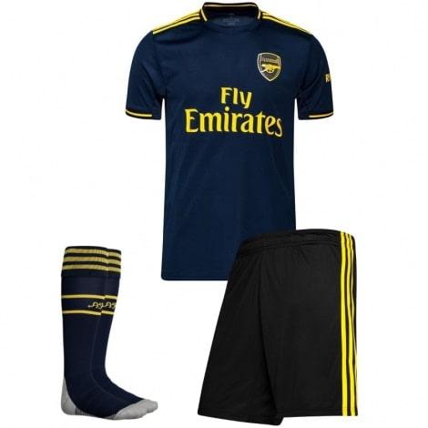Комплект детской третьей формы Арсенала 2019-2020 футболка шорты и гетры