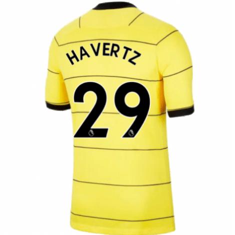Гостевая игровая футболка Челси 2021-2022 Кай Хаверц