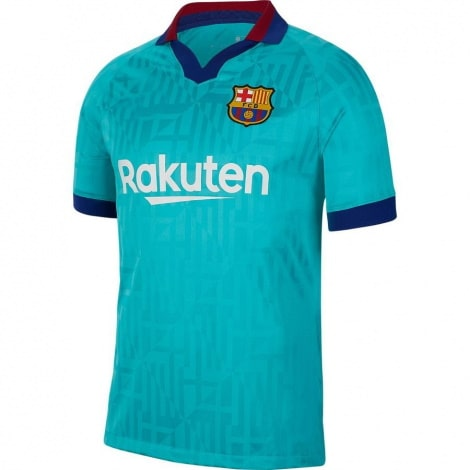 Комплект взрослой третьей формы Барселоны 2019-2020 футболка