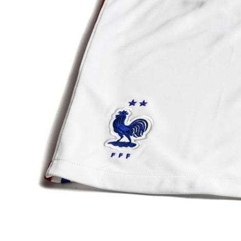 Взрослая гостевая форма Франции на ЕВРО 2020-21 шорты герб сборной