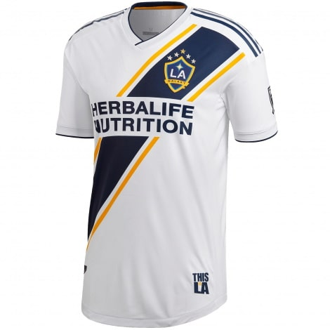 Комплект взрослой домашней формы Лос-Анджелес Гэлакси 2019-2020 футболка