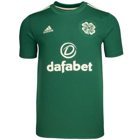 Комплект взрослой гостевой формы Селтик 2021-2022 футболка