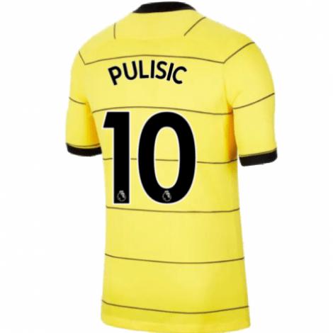 Гостевая игровая футболка Челси 2021-2022 Кристиан Пулишич