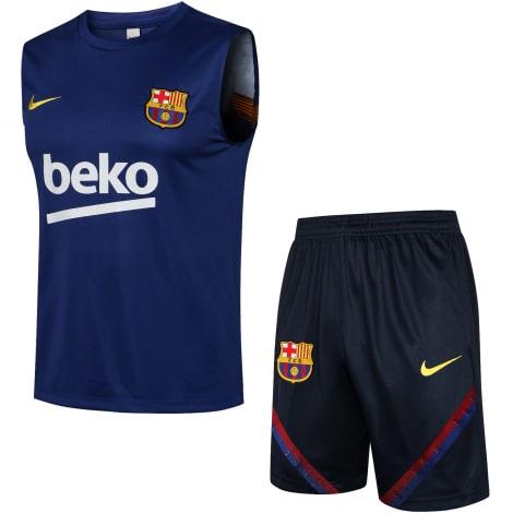 Синяя тренировочная форма Барселоны 2021-2022