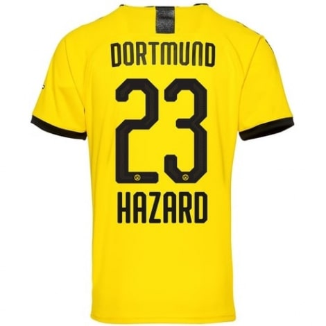 Домашняя футболка Боруссии Дортмунд 2019-2020 Торган Азар
