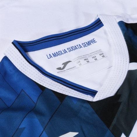 Комплект взрослой гостевой формы Аталанта 2020-2021 футболка воротник