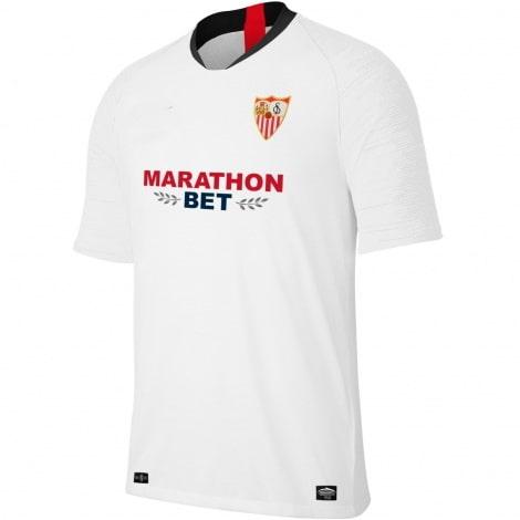 Комплект взрослой домашней формы Севильи 2019-2020 футболка