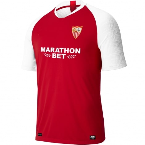 Комплект взрослой гостевой формы Севильи 2019-2020 футболка