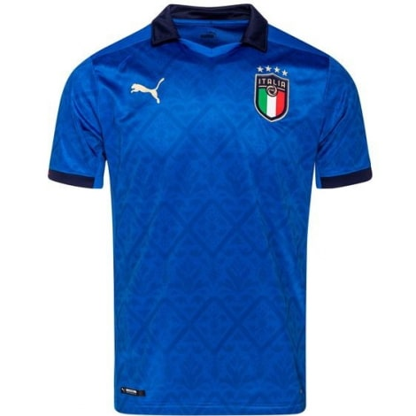 Детская домашняя футбольная форма Италии на ЕВРО 2020-21 футболка
