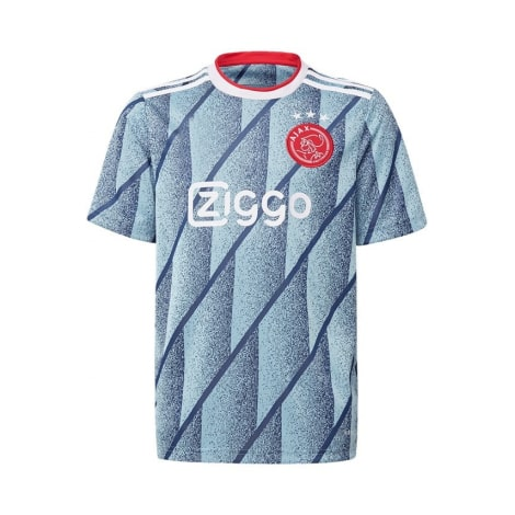 Гостевая футболка Арсенала 2017-2018 воротник вблизи