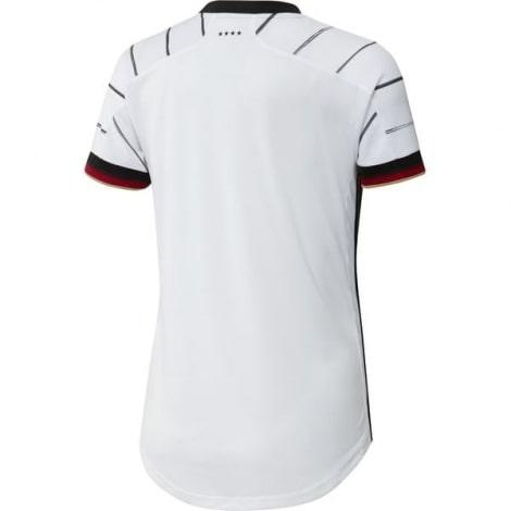 Женская домашняя футболка сборной Германии на ЕВРО 2020 сзади