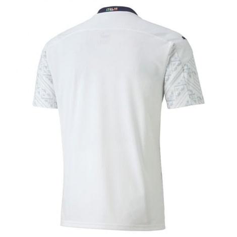 Гостевая футболка сборной Италии на Чемпионат Европы 2020 сзади