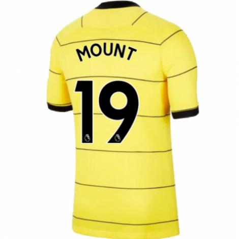 Гостевая игровая футболка Челси 2021-2022 Мейсон Маунт