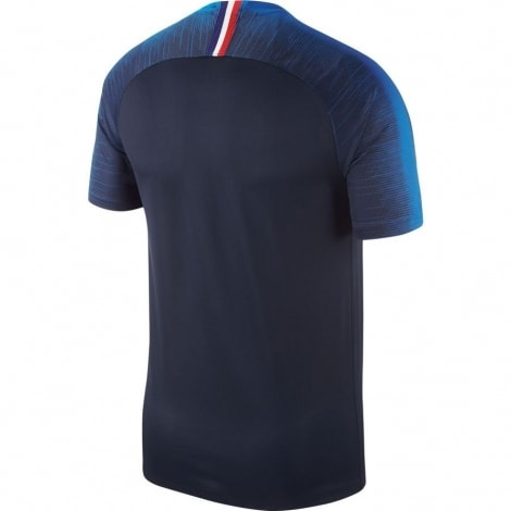 Домашняя форма сборной Франции на чемпионат мира 2018 футболка сзади