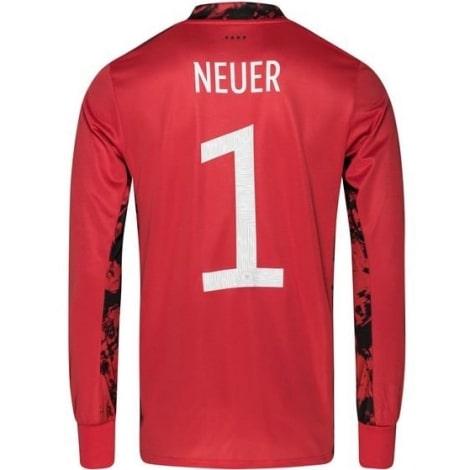 Вратарская домашняя футболка сборной Германии на ЕВРО 2020 Ноер