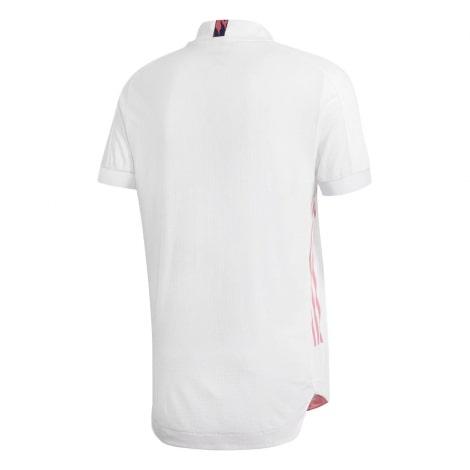 Домашняя аутентичная футболка Реал Мадрид 2020-2021 сзади