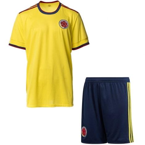 Детская домашняя футбольная форма Колумбии 2020-2021