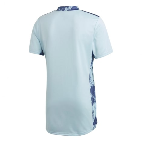 Вратарская Домашняя футболка Реал Мадрид 2020-2021 сзади