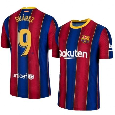Домашняя футболка Барселоны 2020-2021 Луис Суарес