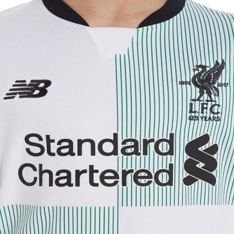 Детская гостевая футболка Ливерпуля 2017-2018