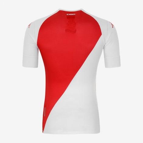 Домашняя игровая футболка Монако 2020-2021 сзади