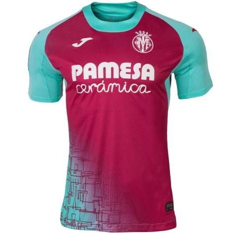 Третья игровая футболка Вильярреал 2020-2021