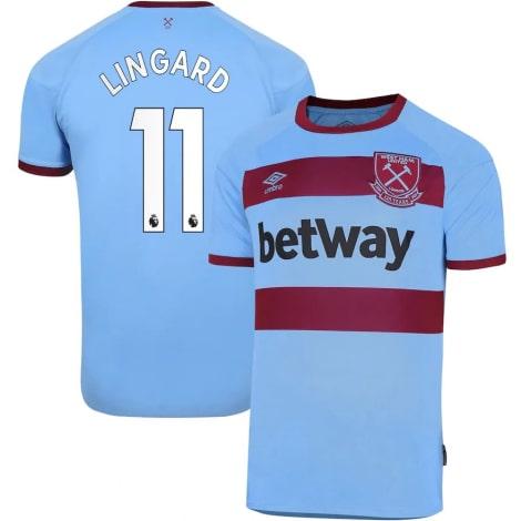 Детская гостевая футбольная форма Лингард 2020-2021 Лингард