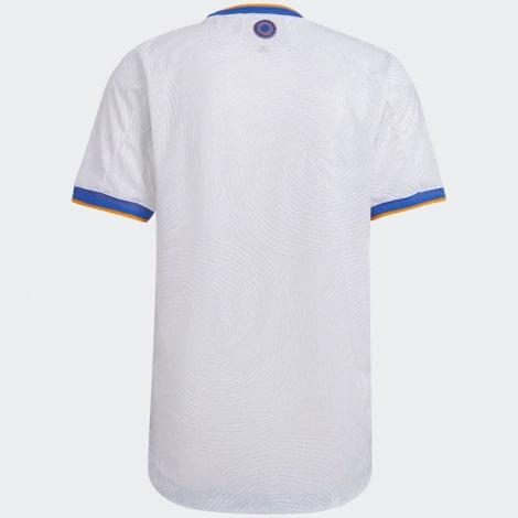 Домашняя аутентичная футболка Реал Мадрид 2021-2022 сзади