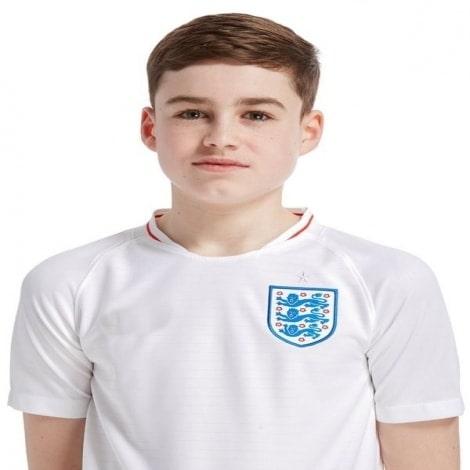 Детская домашняя футболка Англии на ЧМ 2018