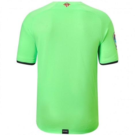 Детская гостевая форма Атлетик Бильбао 2021-2022 футболка сзади