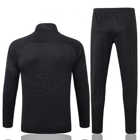 Черный костюм сборной Голландии по футболу 2020-2021 сзади