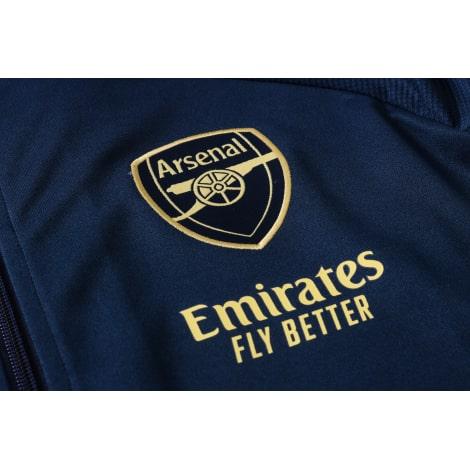 Синий спортивный костюм Арсенал 2021-2022 герб клуба