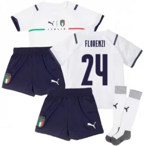 Детская четвертая форма Италии Флоренци на ЕВРО 2020-21