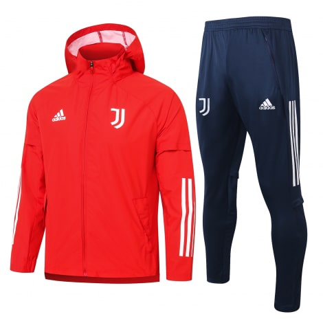 Красно-синий спортивный костюм Ювентуса 2021-2022