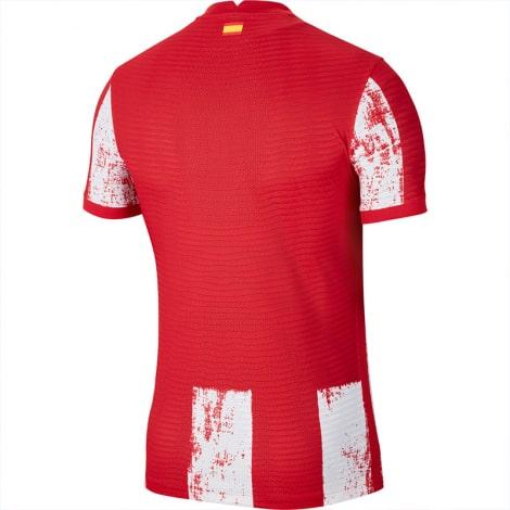 Домашняя аутентичная футболка Атлетико Мадрид 2021-2022 сзади