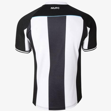 Комплект взрослой домашней формы Ньюкасл 2021-2022 футболка сзади