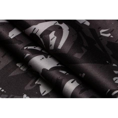 Черно-серый костюм Боруссии Дортмунд 2021-2022 ткань