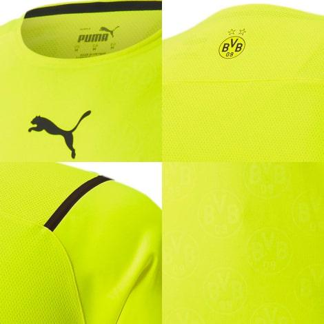 Третья аутентичная футболка Боруссии Дортмунд 2021-2022 логотипы
