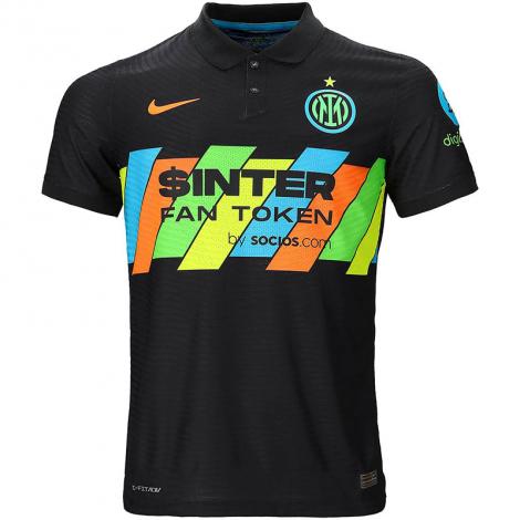 Третья аутентичная футболка Интера 2021-2022