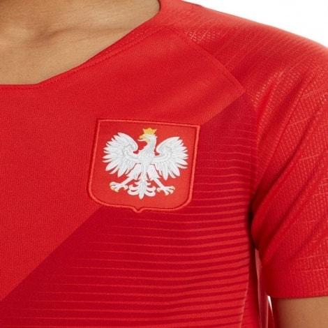 Детский комплект домашней формы Польши на ЧМ 2018 вблизи