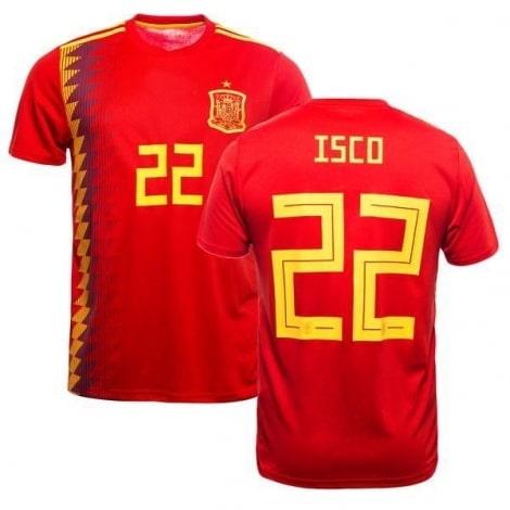 Футболка сборной Испании на ЧМ 2018 Иско