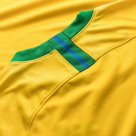 Футболка сборной Бразилии на ЧМ 2018 Неймар сзади