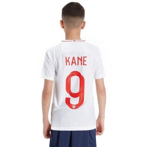 Детская домашняя форма Англии на ЧМ 2018 Гарри Кейн
