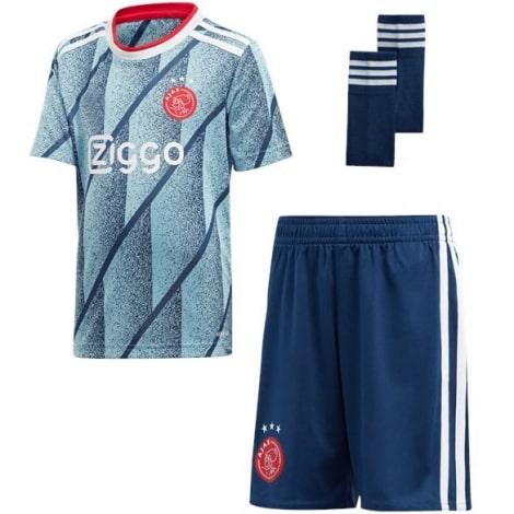 Комплект детской гостевой формы АЯКС 2020-2021 футболка шорты и гетры