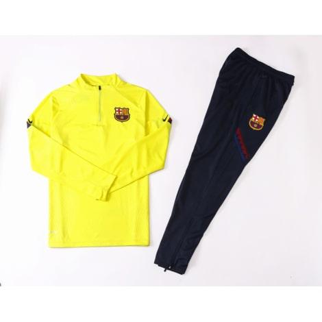 Желто-синий костюм Барселоны 2021-2022